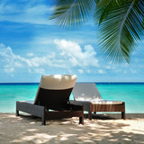 Fototapety Urlaub auf den Malediven