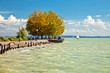 View of Lake Balaton in Hungary