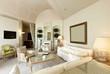 interior luxury apartment, comfortable suit, lounge