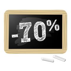 Ardoise promotions -70%