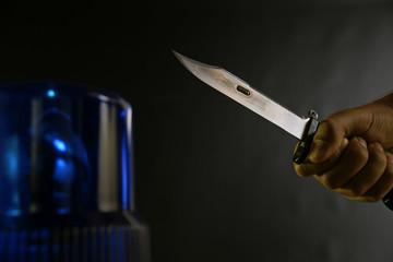 Raubüberfall Messer