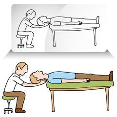 Chiropractor Neck Adjustment