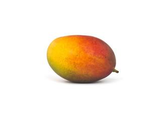 Yummy mango on a white background