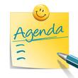 Notizzettel Agenda