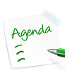 Agenda Zettel
