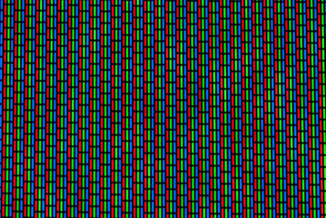 TV noise with moire effect