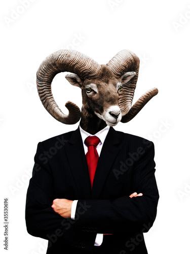 gehörnter Boss