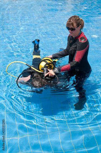 Teaching Diving