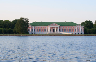 Kuskovo estate, Moscow: facade of the Palace