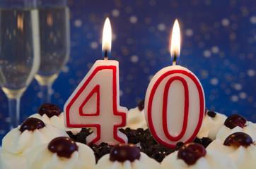 Mitternachtstorte - 40 Jahre