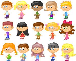 мультфильм детей, студентов