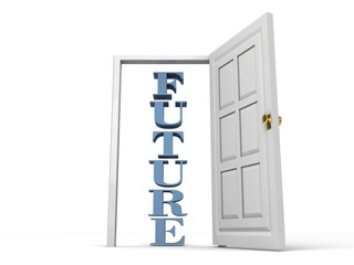 future door opened