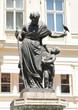 Beautiful statue in Vienna, Austria