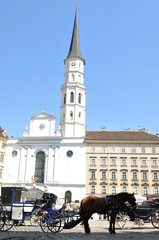 St. Michael's Church (Michaelerkirche) in Vienna, Austria