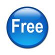 Boton brillante texto Free