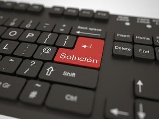 Teclado - solución
