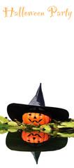 Cartel fiesta de Halloween.