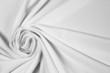 Soft silk in white