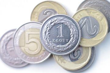 Polska waluta złotówki zł