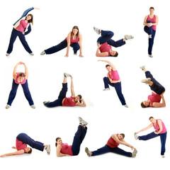 ginnastica collage