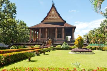 Ho Phra Kaew, Tempel in Vientiane, Laos
