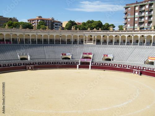 Deurstickers Stierenvechten plaza de toros de albacete