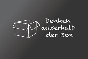 Denken außerhalb der box