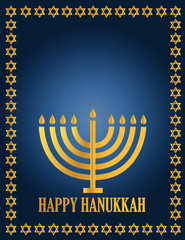 Hanukah Design illustration card