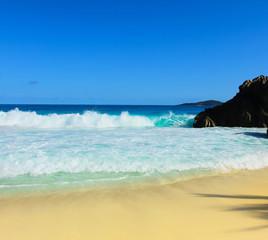 Stones Seascape Waves