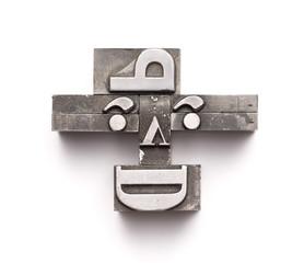 Letterpress Face