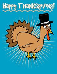 Happy Thanksgiving! Clip Art, Vector eps 8