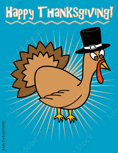 Happy Thanksgiving! Clip Art, Vector eps 8