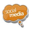 speech bubble, social media