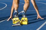 Starting sprinter poster