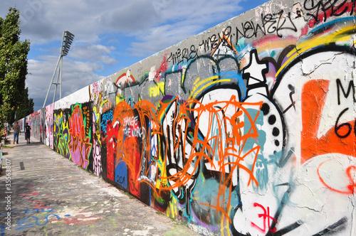 Fotobehang Berlijn mauer