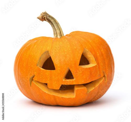 Tuinposter Groenten Halloween Pumpkin.