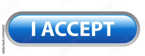 """I ACCEPT"" Web Button (agree terms and conditions contract sale)"