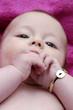 bébé nouriisson portrait