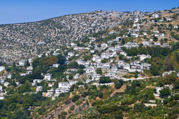 Makrinitsa village at Pelion of Greece near Volos city