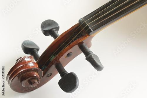 Staande foto Muziekwinkel Violin,