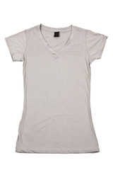 Womens gray t-shirt