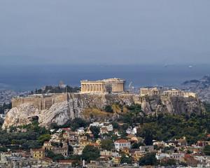 north view of Parthenon Acropolis Athens Greece