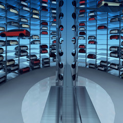 Cosmopolitan Car Park Interior