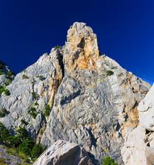 South part of Crimea peninsula, mountain   landscape.