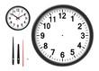 Leinwandbild Motiv 時計