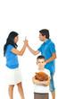 Boy suffering about parents conflict