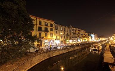 Milano di notte.....Navigli