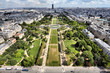Paris - aerial view of Champ de Mars