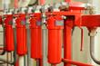 Leinwanddruck Bild - Hydraulics