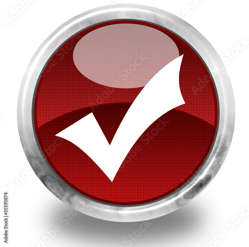 Selection glossy icon